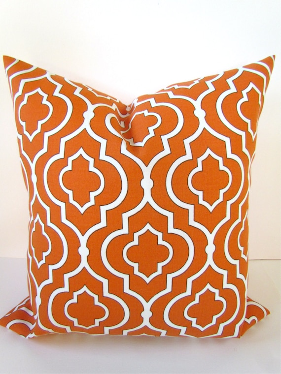 Clearance Patio Throw Pillows : Items similar to Sale ORANGE Pillows ORANGE Throw Pillow Orange Outdoor Pillow Covers Orange ...