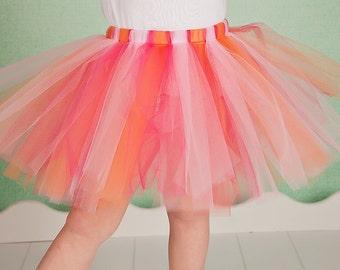 Pink and Orange tutu