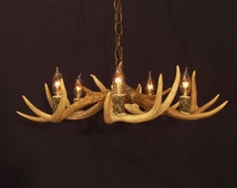 Unique Antler Chandelier Related Items Etsy