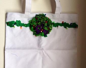 AFTER CHRISTMAS sale price Christmas tote bag