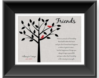 Wedding Gift Message For Best Friend : Popular items for best friend gift