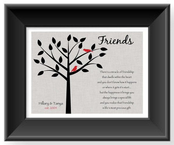 Best Wedding Gift For A Friend: Items Similar To Best Friend Gift