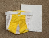 Cloth Diaper for Cats- Vibrant Yellow