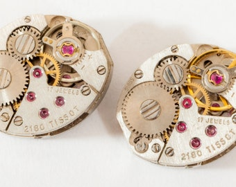 Matching pair of ladies Watch Movements- Tissot 2180's