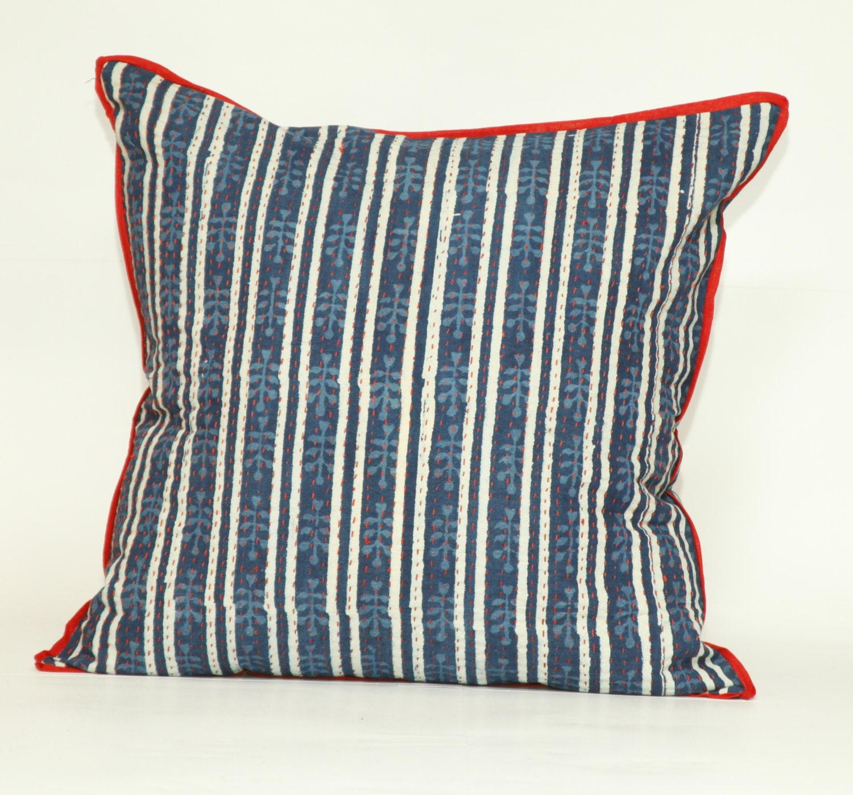 Decorative Pillows Indigo : Indigo Lahiri Square Decorative Pillow 20x20