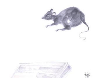 Chinese Zodiac Rat 8x10 print