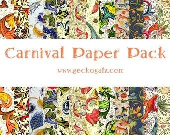 Carnival Digital Paper Pack