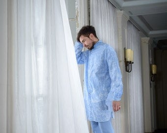 SALE % Oversize shirt for men