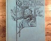The birds christmas carol by kate douglas wiggin, blue christmas antique book