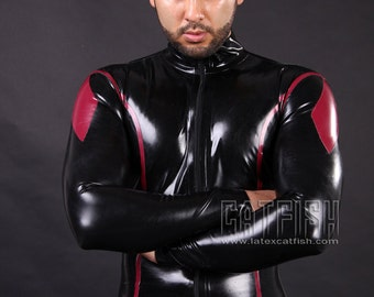 Superhero Man Catsuit So Tight&Cool!!