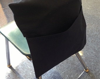 1 piece Chair Pocket/Seat Sack (  dark  blue) for the classroom