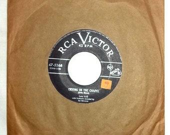 Vintage 45 RPM Vinyl RCA Victor Record June Valli