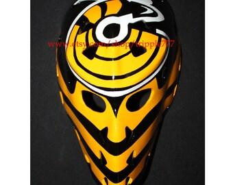 Hockey mask, Hockey goalie, NHL ice hockey, Roller Hockey, Hockey goalie mask, Hockey helmet - Mike Liut mask HO94