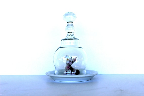 Vintage French Cloche Display Dome