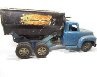 Toy Dump Truck, Buddy L Hydraulic Dump Truck, Toy Truck, Dump Truck
