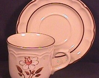 Hearthside Mayblossom Pattern Cup and Saucer