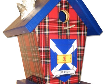 McBoyle Clan Birdhouse