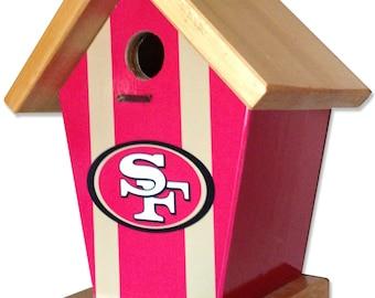 San Francisco 49ers Birdhouse