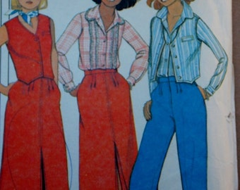 Vintage McCall's Pattern 5956 Size 8, 10 and 12