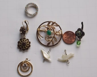 Vintage Lot of Jewelry for Repurposing