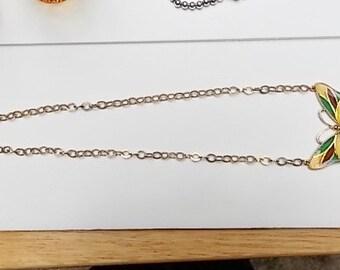 Vintage Butterfly Necklace Designed By Celebrity
