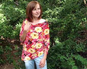 Stash & Go Full Coverage Nursing Cover - Abstract Floral