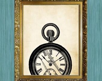 Vintage Watch Print