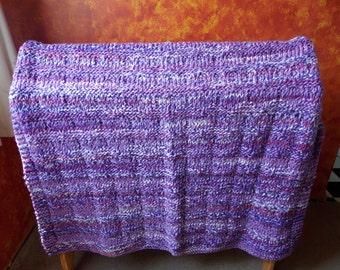 Purple Lovers Afghan