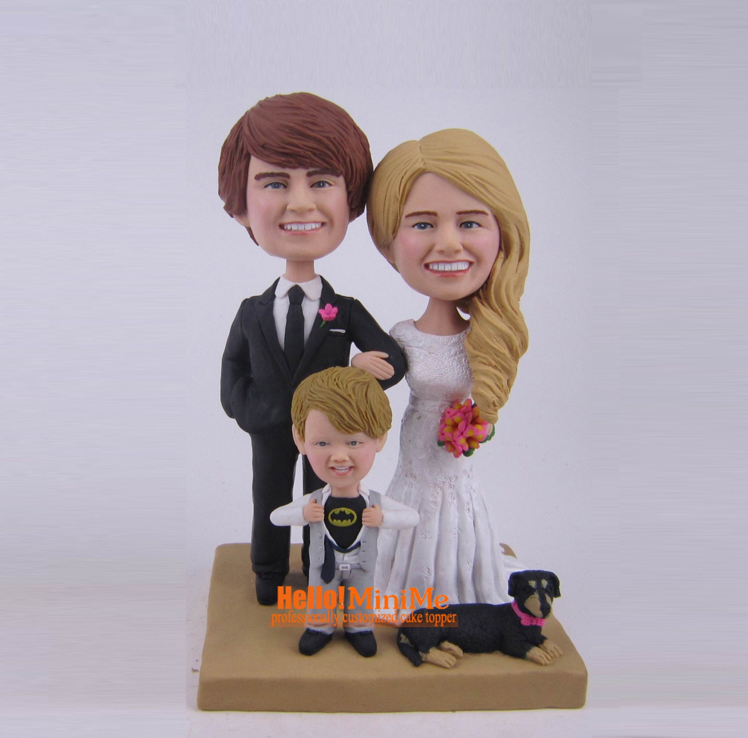 personalized bobblehead wedding cake toppers wedding cake topper bobblehead custom cake toppers bobble 6475