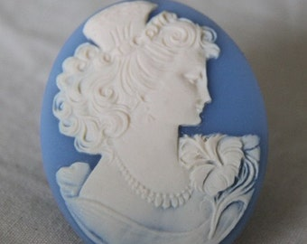 12 pcs of resin cameo 40x50mm -RC0337