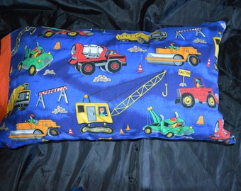 Construction Zone Pillow for Boys
