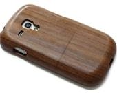 SALE Samsung Galaxy S3 Mini - wooden S3 mini case walnut wood