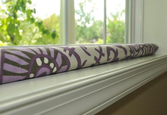 Custom length door snake draft stopper window by greendecor for Door wind stopper