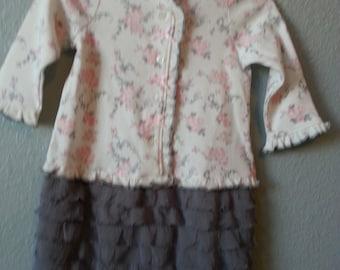 BABY RUFFLE DRESS