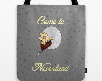 Disney's Peter Pan Come to Neverland Tote Bag