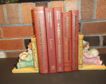 Shades of Rust Decorative Books Decoration - Shades of Rust Book Bundle-  5 books