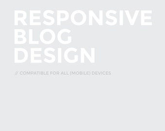 Responsive Design (compatible for all screens and mobile devices)