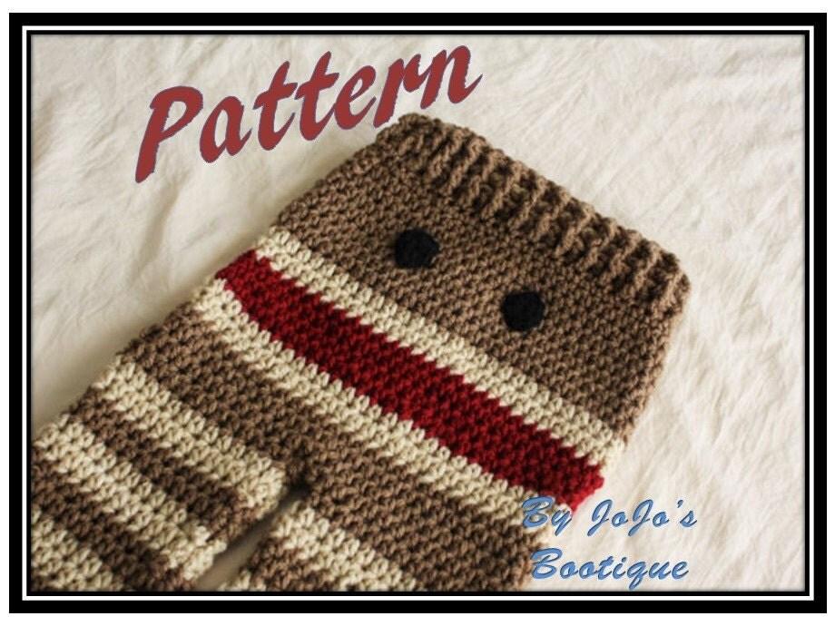 PATTERN Crochet Monkey Baby Pants PATTERN Baby Monkey