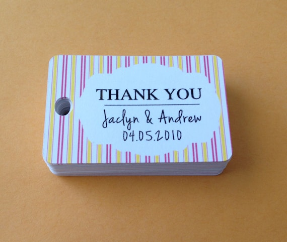 thank you gift tag baby shower favor tags gift tags favor gift tags