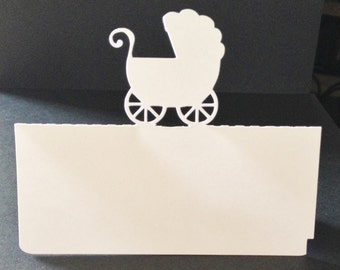 Baby Carriage Placecards