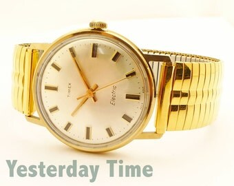 Timex Men's Watch 1969 Electric Movement
