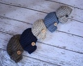 MADE TO ORDER - Newsboy Cap, Unisex Sizes 3 to 6, 6 to 12 Months, Boy Girl Baby Gift, Photo Prop, Assorted Solid Colors and Tweeds