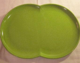 1950's Vintage Melmac Serving Platter Original Indestructable Dish Service