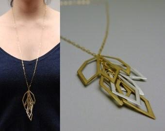 Long Pendant Necklace