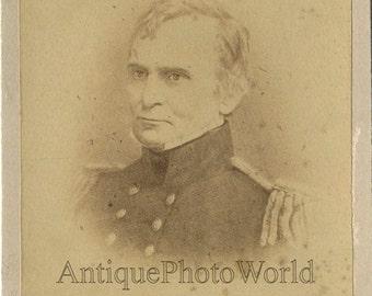 Famous Civil War general antique photo