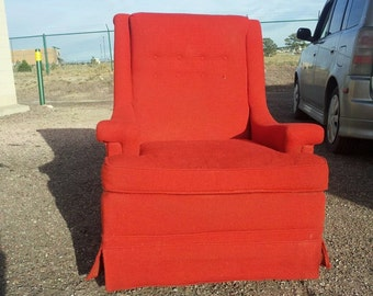 Retro Red Chair