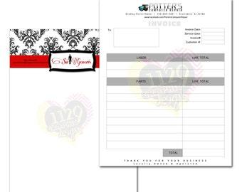 Invoice or Letterhead Design