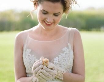 Vintage gloves, Bridal gloves, Wedding gloves, Fishnet gloves, Crystal gloves, Vintage accessories, Embellished gloves