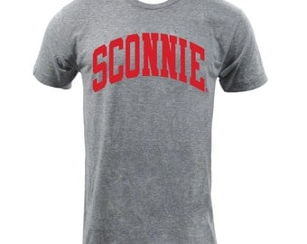 UGP - Sconnie - Tri-Blend T-shirt - Unisex T Shirt - Athletic Grey