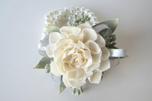 dahlia wristlet corsage traditional wrist corsage keepsake, Beautiful flower